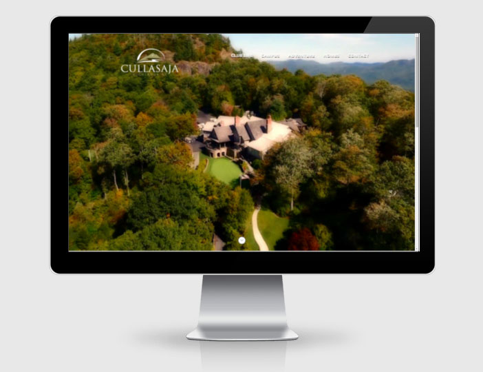 Country Club Web Design