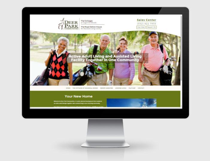 Assisted Living Web Design